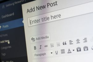 WordPress Post erstellen